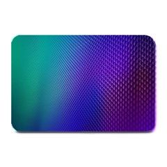 Galaxy Blue Purple Plate Mats by Mariart