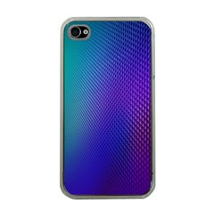 Galaxy Blue Purple Apple Iphone 4 Case (clear) by Mariart