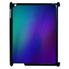Galaxy Blue Purple Apple Ipad 2 Case (black) by Mariart