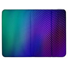 Galaxy Blue Purple Samsung Galaxy Tab 7  P1000 Flip Case by Mariart