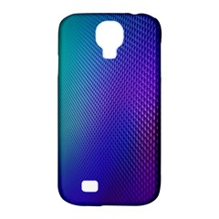Galaxy Blue Purple Samsung Galaxy S4 Classic Hardshell Case (pc+silicone) by Mariart