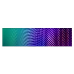 Galaxy Blue Purple Satin Scarf (oblong) by Mariart