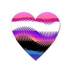 Mutare Mutaregender Flags Heart Magnet by Mariart