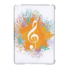 Musical Notes Apple Ipad Mini Hardshell Case (compatible With Smart Cover) by Mariart