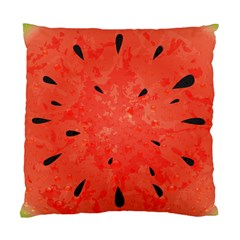 Summer Watermelon Design Standard Cushion Case (one Side) by TastefulDesigns