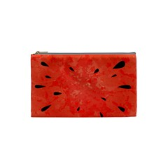Summer Watermelon Design Cosmetic Bag (small)  by TastefulDesigns
