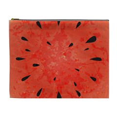 Summer Watermelon Design Cosmetic Bag (xl) by TastefulDesigns