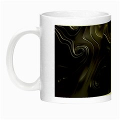 Map Curves Dark Night Luminous Mugs by Mariart