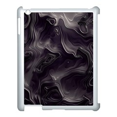 Map Curves Dark Apple Ipad 3/4 Case (white) by Mariart