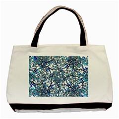 Modern Nouveau Pattern Basic Tote Bag (two Sides) by dflcprints