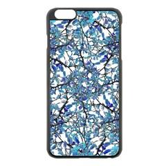 Modern Nouveau Pattern Apple Iphone 6 Plus/6s Plus Black Enamel Case by dflcprints