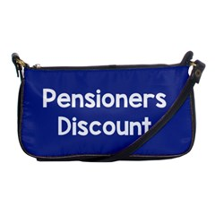 Pensioners Discount Sale Blue Shoulder Clutch Bags by Mariart