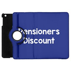 Pensioners Discount Sale Blue Apple Ipad Mini Flip 360 Case by Mariart