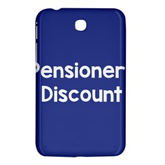 Pensioners Discount Sale Blue Samsung Galaxy Tab 3 (7 ) P3200 Hardshell Case  by Mariart