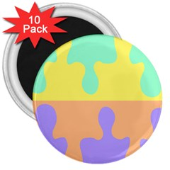 Puzzle Gender 3  Magnets (10 Pack)  by Mariart