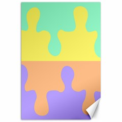 Puzzle Gender Canvas 20  X 30   by Mariart