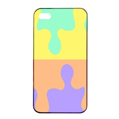 Puzzle Gender Apple Iphone 4/4s Seamless Case (black) by Mariart