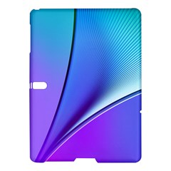 Line Blue Light Space Purple Samsung Galaxy Tab S (10 5 ) Hardshell Case  by Mariart