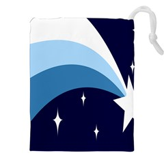 Star Gender Flags Drawstring Pouches (xxl) by Mariart