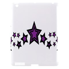 Star Purple Space Apple Ipad 3/4 Hardshell Case (compatible With Smart Cover) by Mariart