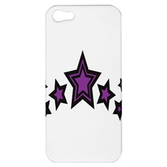 Star Purple Space Apple Iphone 5 Hardshell Case by Mariart