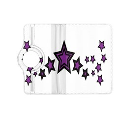 Star Purple Space Kindle Fire Hd (2013) Flip 360 Case by Mariart