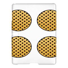 Star Circle Orange Round Polka Samsung Galaxy Tab S (10 5 ) Hardshell Case  by Mariart