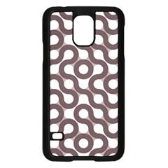 Seamless Geometric Circle Samsung Galaxy S5 Case (black) by Mariart