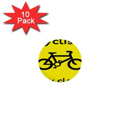 Stay Classy Bike Cyclists Sport 1  Mini Buttons (10 Pack)  by Mariart