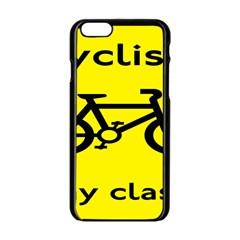 Stay Classy Bike Cyclists Sport Apple Iphone 6/6s Black Enamel Case by Mariart
