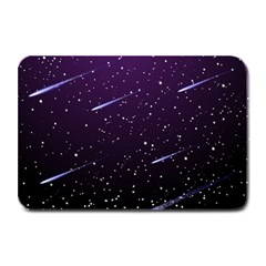 Starry Night Sky Meteor Stock Vectors Clipart Illustrations Plate Mats by Mariart