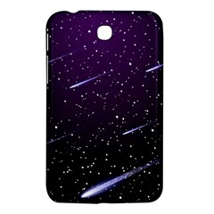Starry Night Sky Meteor Stock Vectors Clipart Illustrations Samsung Galaxy Tab 3 (7 ) P3200 Hardshell Case  by Mariart