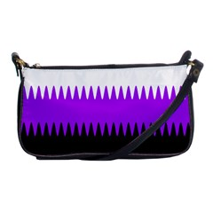 Sychnogender Techno Genderfluid Flags Wave Waves Chevron Shoulder Clutch Bags by Mariart