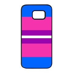 Transgender Flags Samsung Galaxy S7 edge Black Seamless Case by Mariart