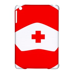 Tabla Laboral Sign Red White Apple Ipad Mini Hardshell Case (compatible With Smart Cover) by Mariart