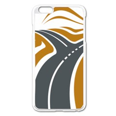 Transparent All Road Tours Bus Charter Street Apple Iphone 6 Plus/6s Plus Enamel White Case by Mariart
