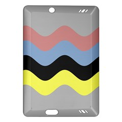 Wave Waves Chevron Sea Beach Rainbow Amazon Kindle Fire Hd (2013) Hardshell Case by Mariart