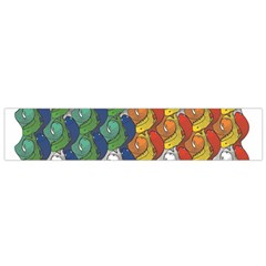 Rainbow Fish Flano Scarf (small) by Mariart