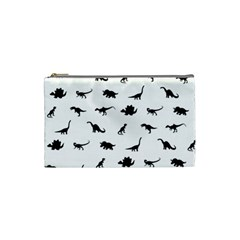 Dinosaurs Pattern Cosmetic Bag (small)  by Valentinaart