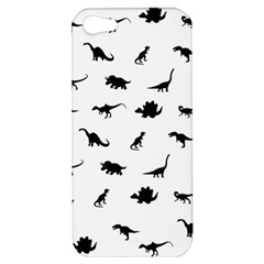 Dinosaurs Pattern Apple Iphone 5 Hardshell Case by Valentinaart
