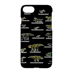 Dinosaurs Names Apple Iphone 7 Hardshell Case by Valentinaart