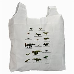 Dinosaurs Names Recycle Bag (one Side) by Valentinaart