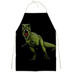 Dinosaurs T Rex Full Print Aprons by Valentinaart