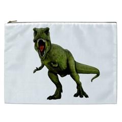 Dinosaurs T Rex Cosmetic Bag (xxl)  by Valentinaart