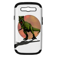 Dinosaurs T Rex Samsung Galaxy S Iii Hardshell Case (pc+silicone) by Valentinaart