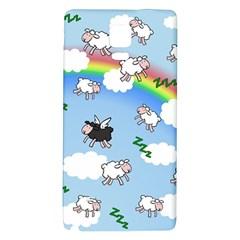 Sweet Dreams  Galaxy Note 4 Back Case by Valentinaart