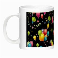 Balloons   Night Luminous Mugs by Valentinaart