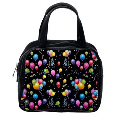 Balloons   Classic Handbags (one Side) by Valentinaart