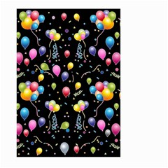 Balloons   Large Garden Flag (two Sides) by Valentinaart