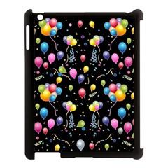 Balloons   Apple Ipad 3/4 Case (black) by Valentinaart